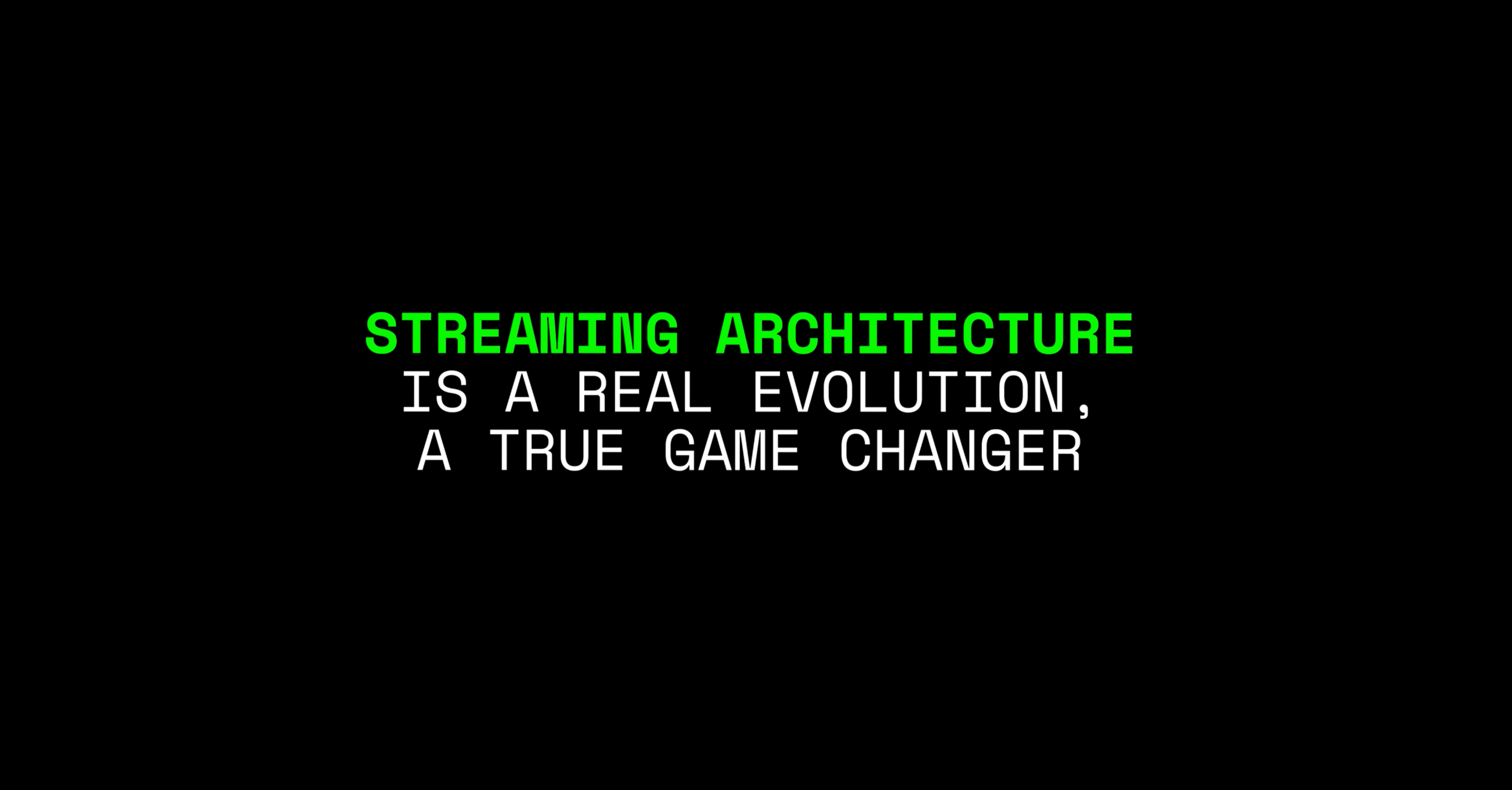 Streaming Architecture Debreuck Neirynck